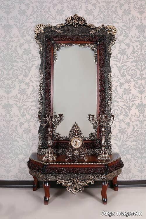 آینه و شمعدان زیبا و جدید