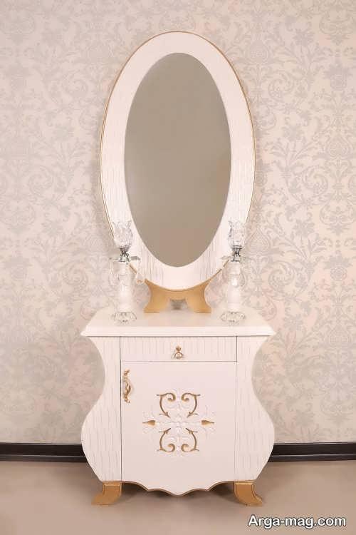 مدل زیبا و جدید آینه و شمعدان