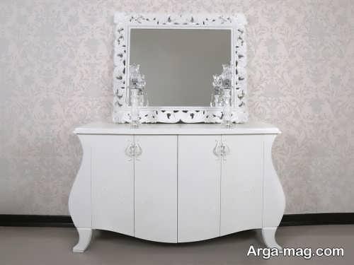 مدل های آینه و شمعدان شیک برای عروس
