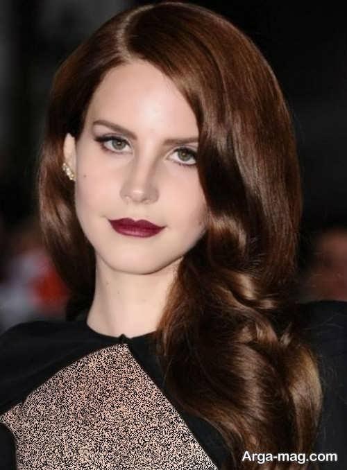 رنگ مو قهوه ای شکلاتی تیره