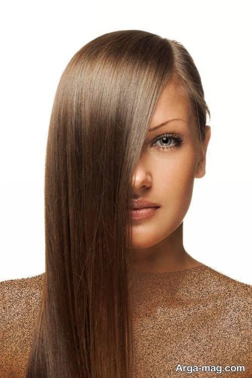 رنگ مو قهوه ای شکلاتی روشن