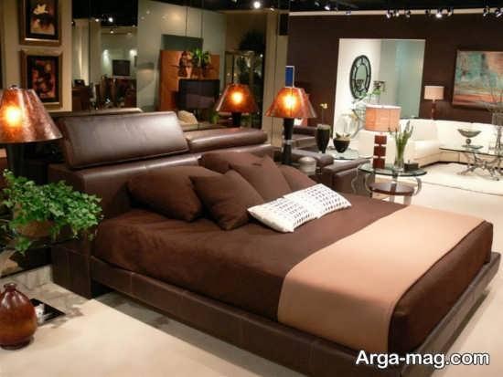 اتاق خواب شیک با طراحی عالی