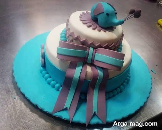 کیک تولد فیل کوچولو