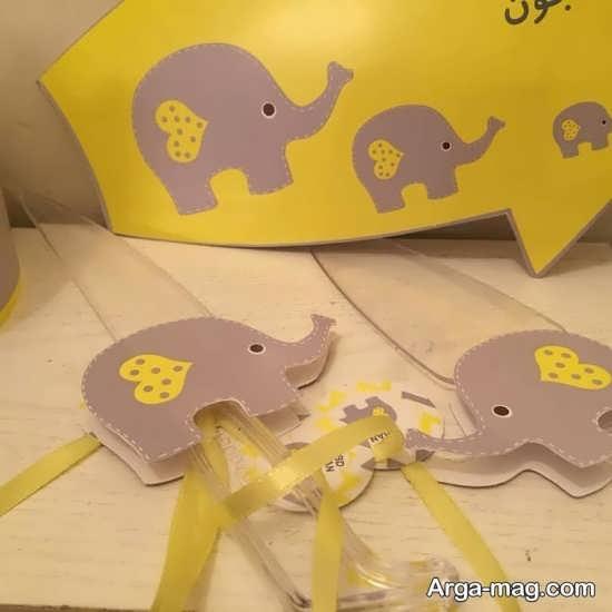 فیل زیبا برای تم تولد