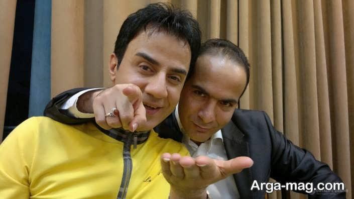 عکس عمو پورنگ و حسن ریوندی