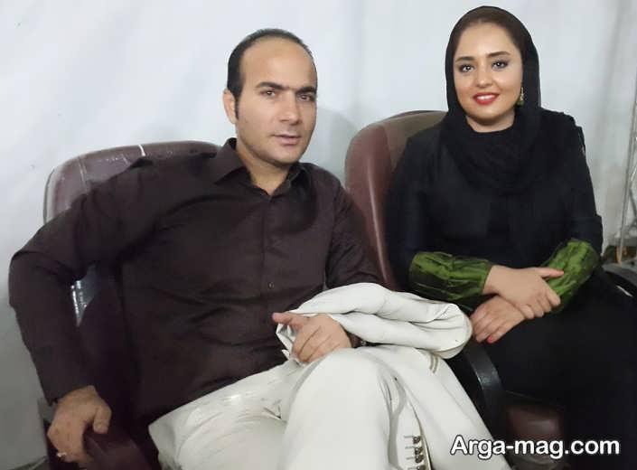 عکس حسن ریوندی و بازیگر سریال ستایش