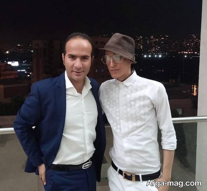 عکس حسن ریوندی و مرحوم مرتضی پاشایی