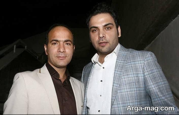عکس حسن ریوندی در کنار علیخانی
