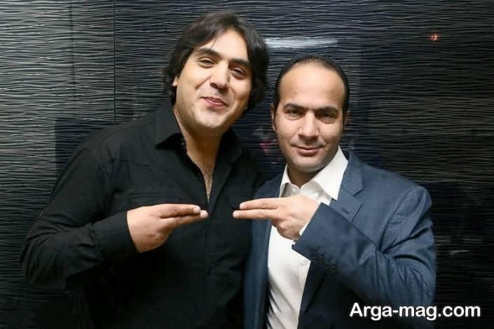 عکس حسن ریوندی و مانی رهنما