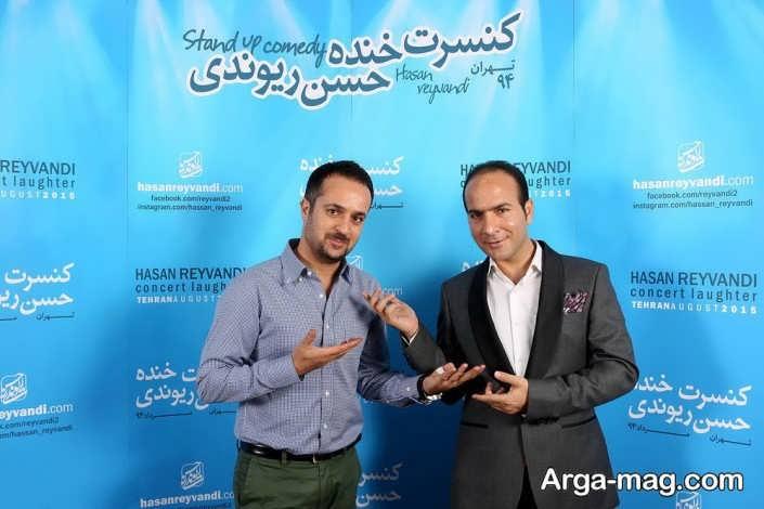 عکس حسن ریوندی و بازیگر سریال پایتخت