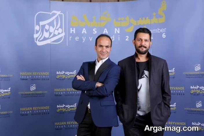 عکس حسن ریوندی و حامد بهداد