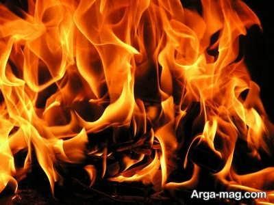 تعبیر دیدن شعله های آتش در خواب