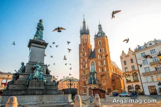 قلعه های زیبا در لهستان