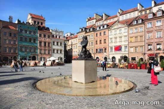 مکان های تاریخی لهستان