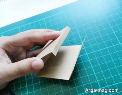 ساختن جعبه کبریت با کارتون مقوایی