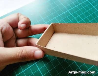 ساخت جعبه کبریت با روشی ساده