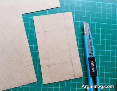 مراحل ساخت جعبه کبریت