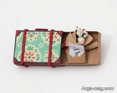 آموزش ساخت کارت تبریک با جعبه کبریت