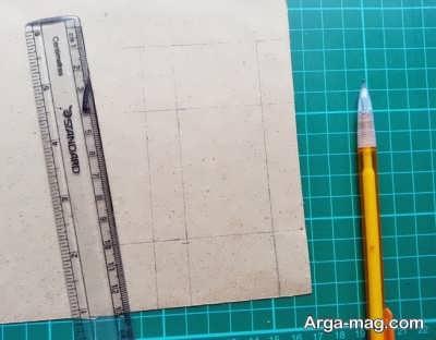 مراحل ساخت کاردستی با کارتون