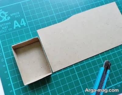 ساختن جعبه کبریت با ساده ترین روش
