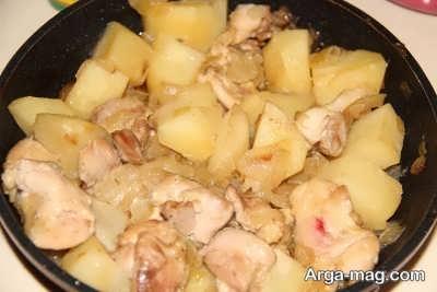 دستور پخت کاری ماسامان