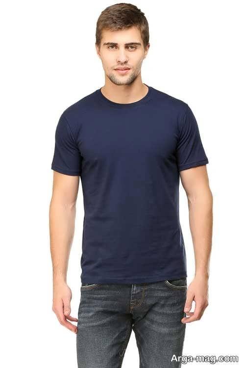 مدل تی شرت ساده و زیبا مردانه