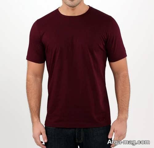 تی شرت ساده و زیبا مردانه