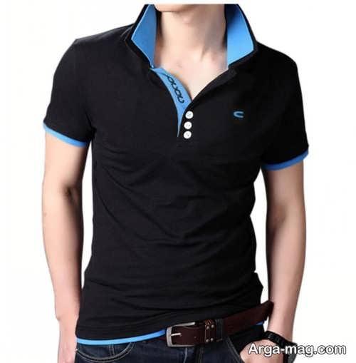 تی شرت زیبا و شیک مردانه
