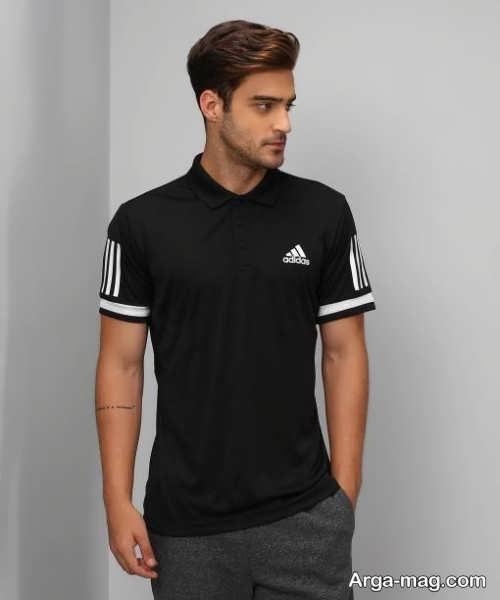 تی شرت مشکی مردانه