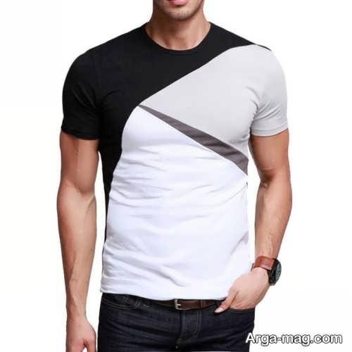 مدل تی شرت شیک مردانه