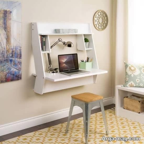 مدل میز کامپیوتر دیواری
