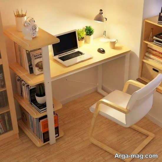 دیزاین عالی میز دیواری کامپیوتر
