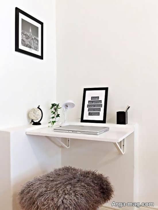 میز دیواری برای کامپیوتر