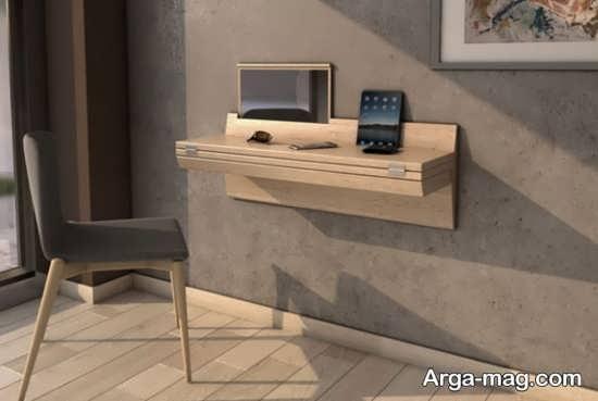 میز کامپیوتر دیواری