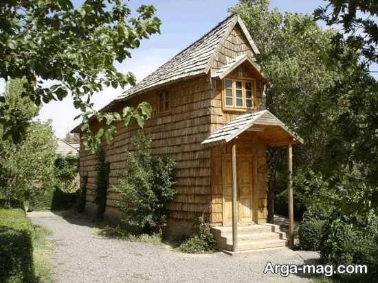 دهکده چوبی نیشابور