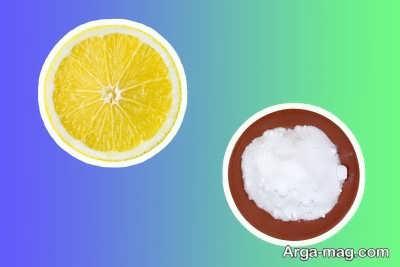 خمیر جوش شیرین و آبلیمو برای سفید کردن دندان