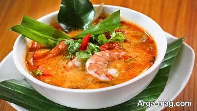 طرز تهیه سوپ تایلندی