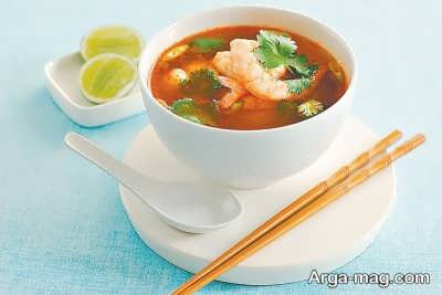 روش تهیه سوپ تایلندی