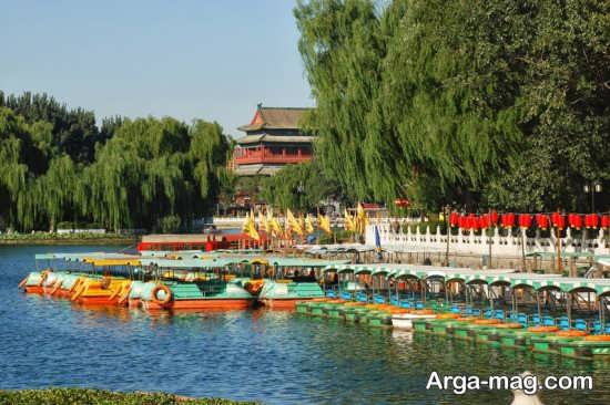 دریاچه زیبای پکن
