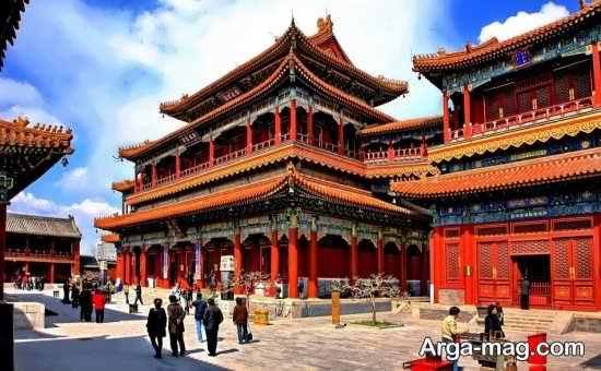 معبد زیبا در پکن