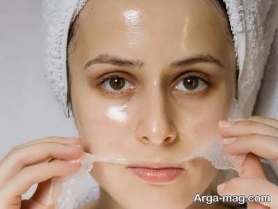 پاکسازی پوست چرب در خانه