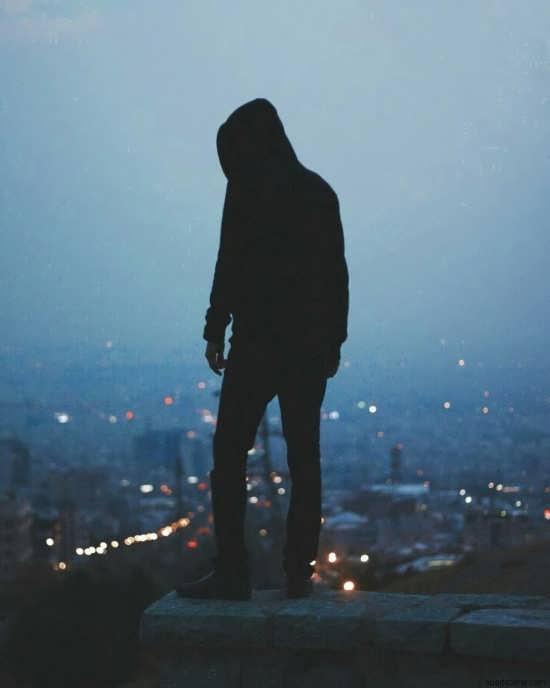 عکس پروفایل غمگین پسرانه بدون متن