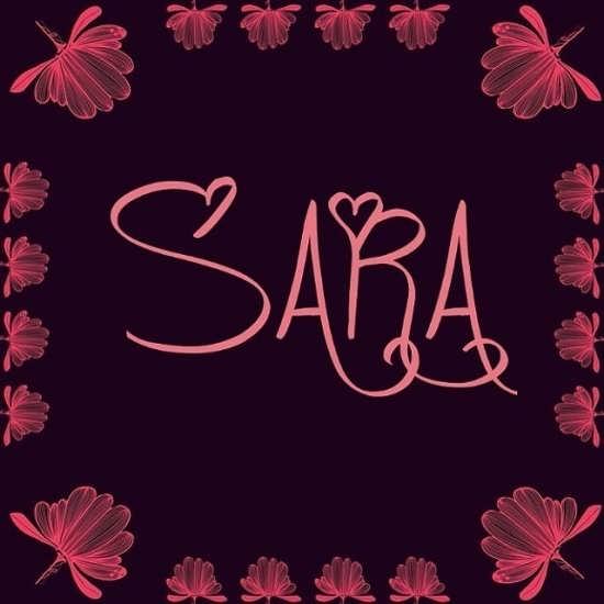 عکس پروفایل جدید اسم سارا