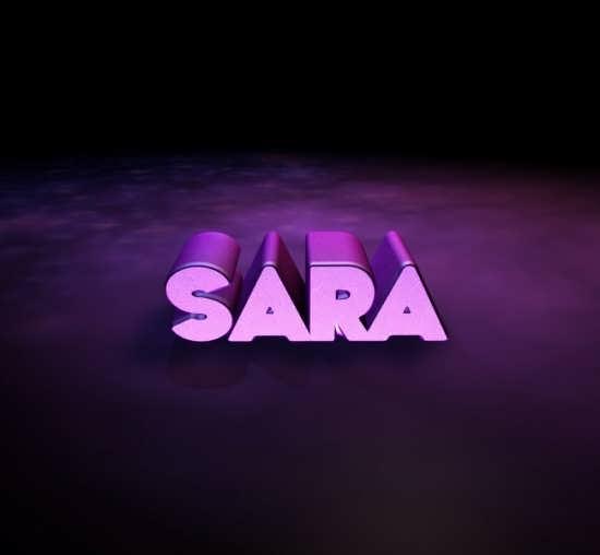 عکس اسم سارا برای پروفایل