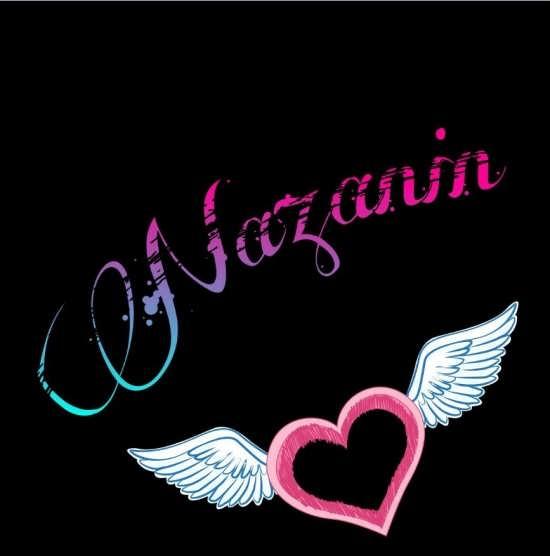 عکس پروفایل زیبای اسم نازنین