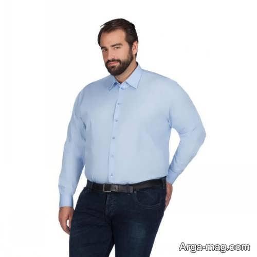 مدل لباس مردانه شیک برای افراد چاق