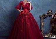 مدل لباس مجلسی پف دار