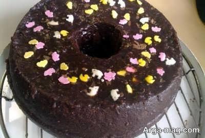 تزیین کیک نوشابه ای