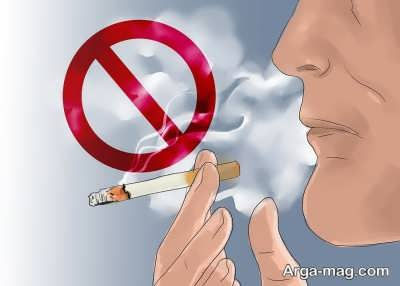 کاهش اندازه شکم با سیگار نکشیدن