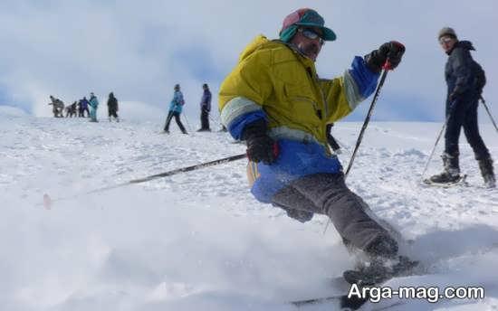 پیست اسکی در سرعین